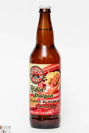 Red Truck Beer Co. - Ridin' Shotgun Belgian Blonde Review