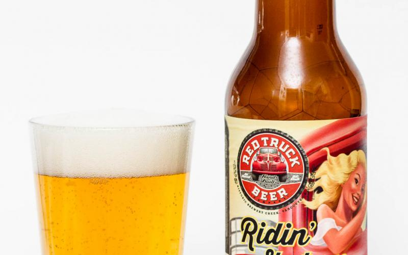 Red Truck Beer Co. – Ridin' Shotgun Belgian Blonde Ale