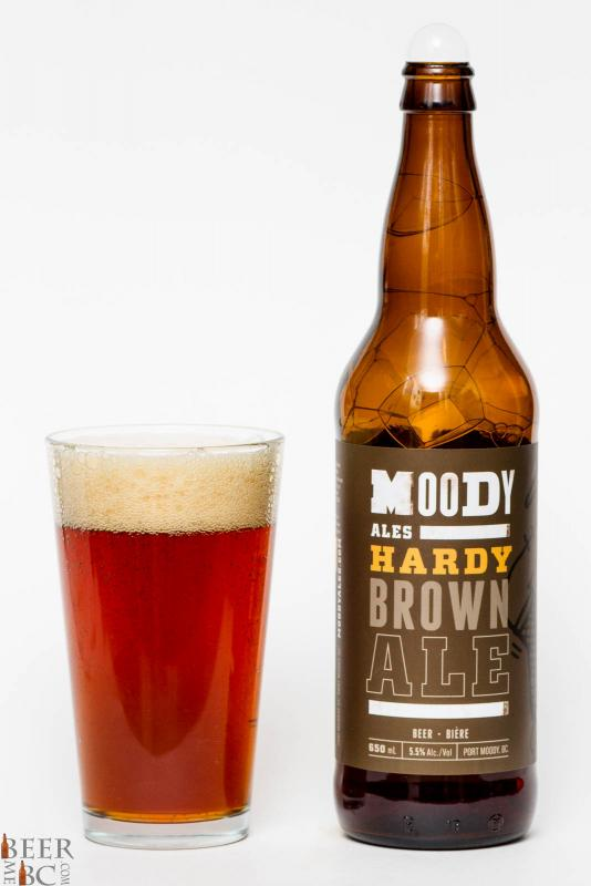 Moody Ales Hardy Brown Ale Review