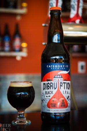 Category 12 Brewing Company Disruption IPA