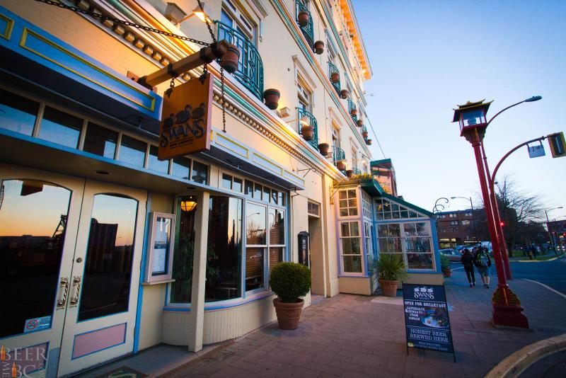 Swans Brewpub and hotel - Victoria BC