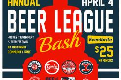 Bomber Brewing hosts 'Beer League' hockey fundraiser