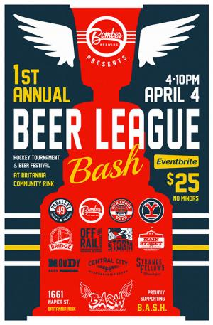 Bomber Brewing Beer League Bash