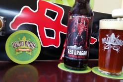 Dead Frog and Red Dragon Apparel Collaborate on Red Dragon Imperial Red Ale