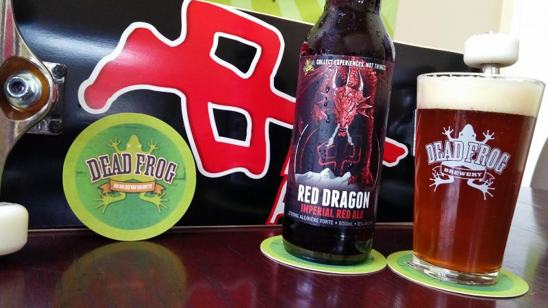 Dead Frog Red Dragon Imperial Red Ale_2