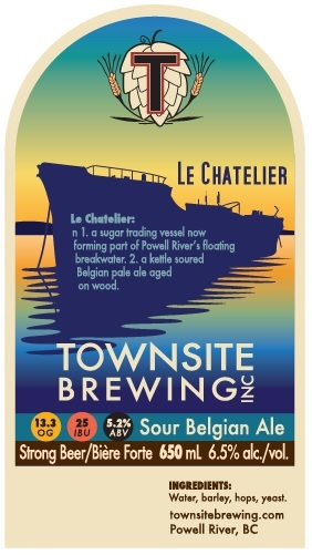Townsite Le Chatelier Sour Belgian Ale