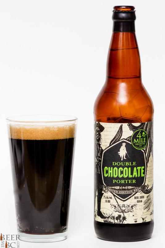 Four Mile Brewing - Double Chocolate Porter Review