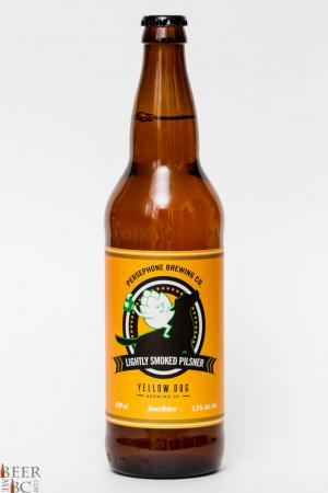 Persephone and Yellow Dog Lightly Smoked Pilsner Review