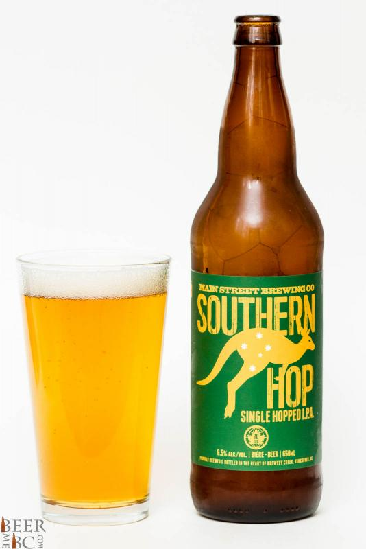 Main Street Brewing Southern Hop IPA Review