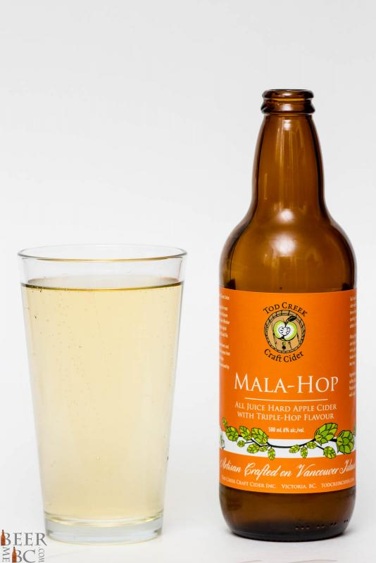 Tod Creek Mala Hop Dry Hopped Apple Cider Review