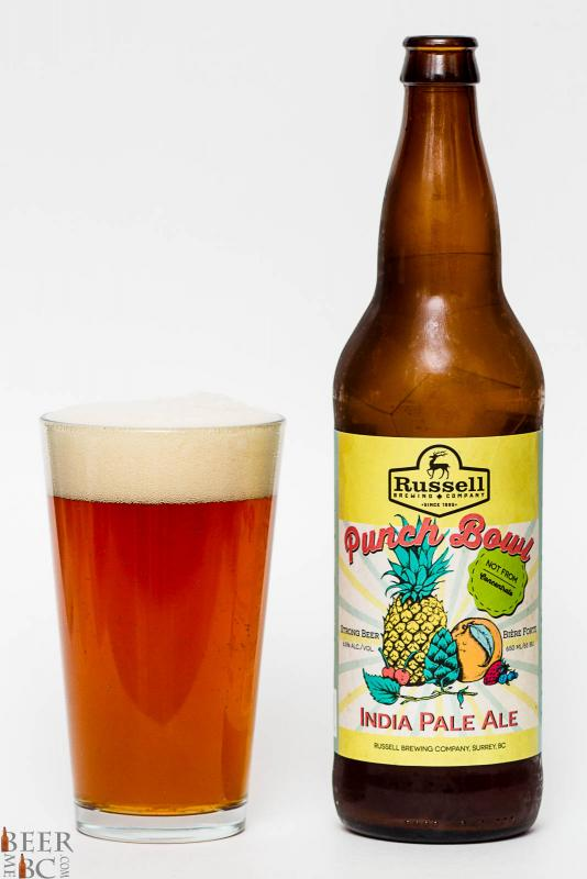 Russell Brewing Co - Punch Bowl IPA Review