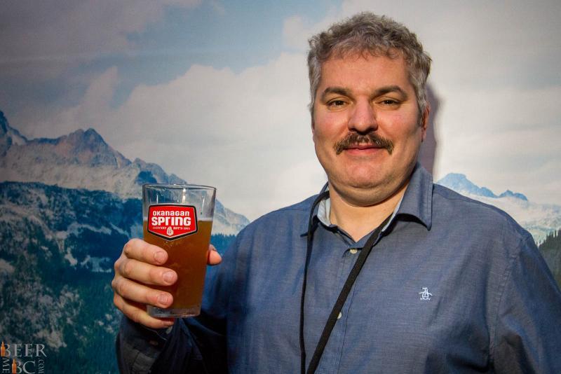 Okanagan Spring Brewmaster Stefan Tobler