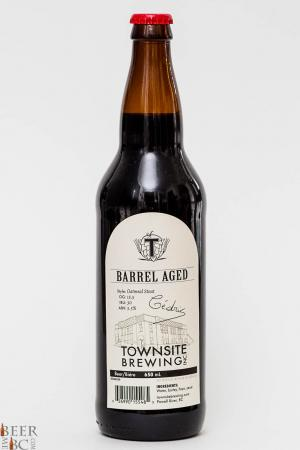 Townsite Brewing Barrel Aged Oatmeal Stout Review