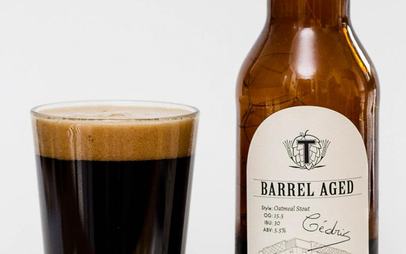 Townsite Brewing Inc. –  Barrel Aged Oatmeal Stout