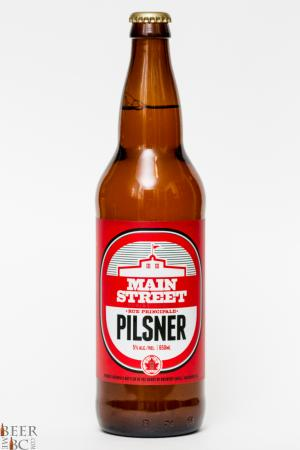 Main Street Brewing Pilsner