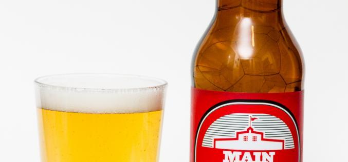Main Street Brewing Co. – Rue Principale Pilsner