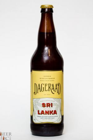 Dageraad Brewery Sri Lanka Dubbel