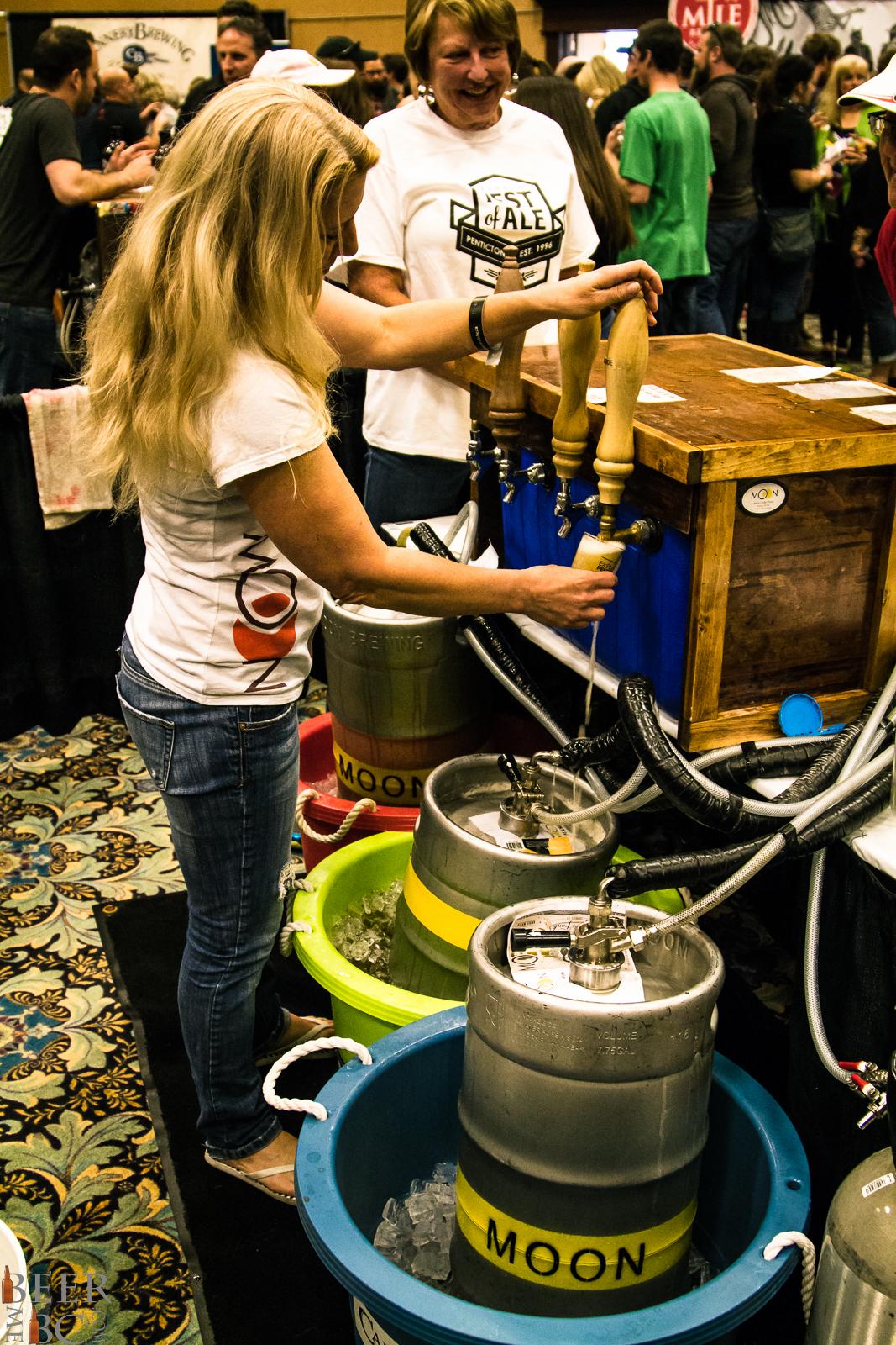 Okanagan Fest Of Ale - Moon Under Water