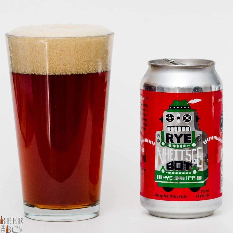 Cannery Brewing Rye Nheitsge Bot Rye IPA Review