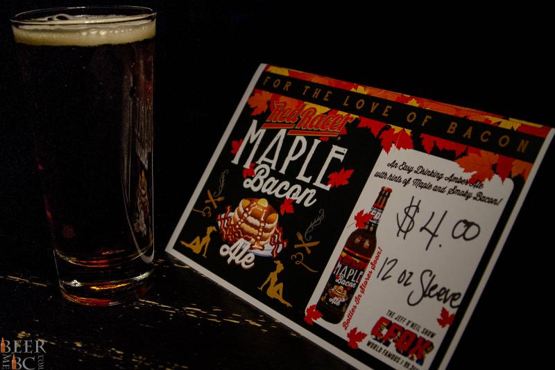 Central City & CFOX Red Racer Bacon Maple Ale