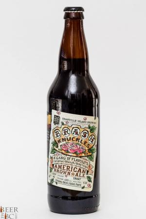 Granville Island Brewery Brash Knuckles American Brown Ale Review