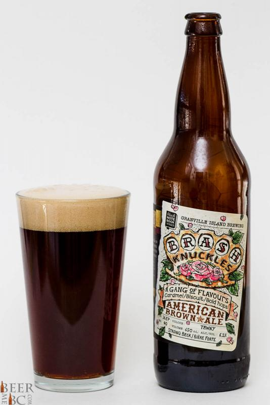 Granville Island Brewery Brash Knuckles American Brown Ale Review