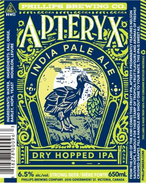 Phillips Brewin Apteryx New Zealand Hopped IPA