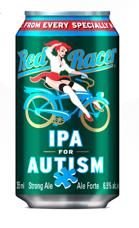 Red Racer IPA for Autism 2015