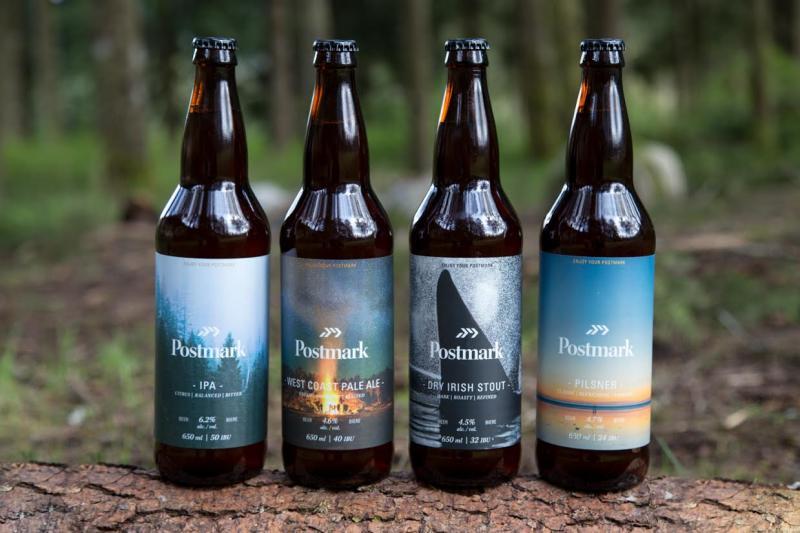 Postmark Brewing Bottles