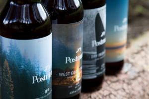 Postmark Brewing Bottles Closeup