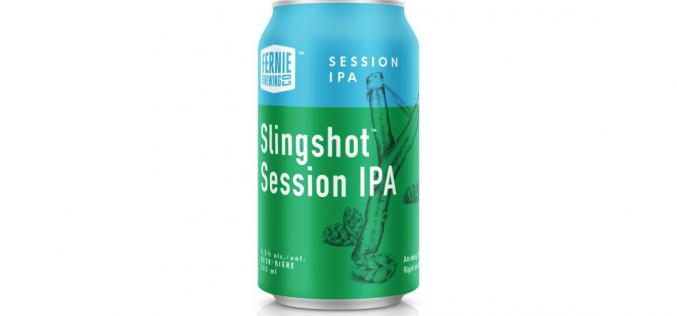 Fernie Brewing Launches New Slingshot Session IPA