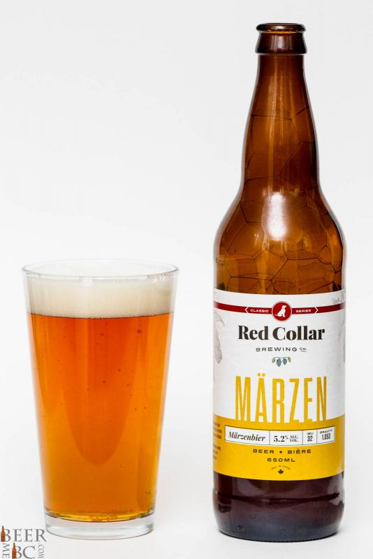 Red Collar Brewing Marzen Review