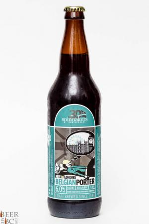 Spinnaker's Brewery Belgian Porter Review