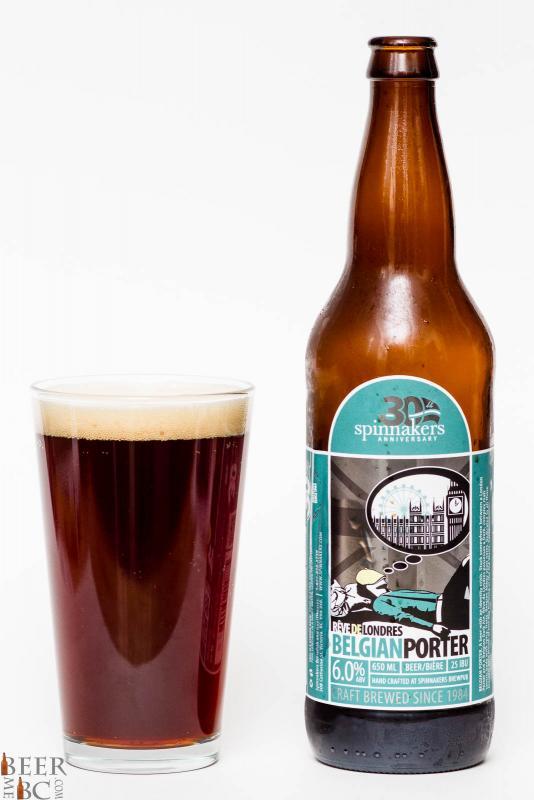 Spinnaker's Brewery Belgian Porter Review