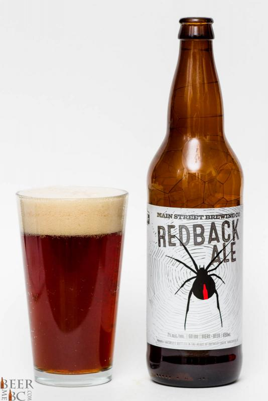 Main Street Brewing Red Back Ale Review