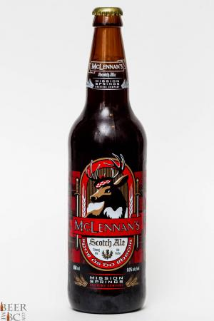 Mission Springs Brewery McLennon's Scotch Ale Review