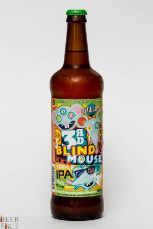 Phillips Brewing Co. - 3rd Blind Mouse IPA Review