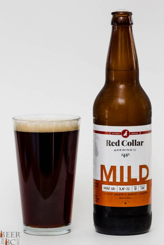 Red Collar Brewing Mild Ale Review