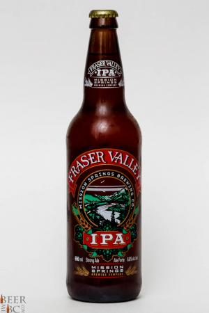 Mission Spring Brewing - Fraser Valley IPA Review