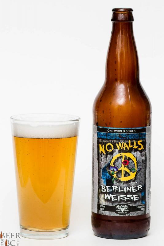 Bad Tattoo Brewing No Walls Berliner Weisse Review