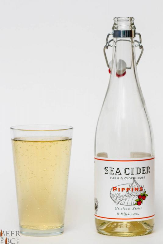 Sea Cider Pippins Apple Cider Review