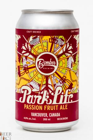 Bomber Brewing Co. - Park Life Passion Fruit Ale Review