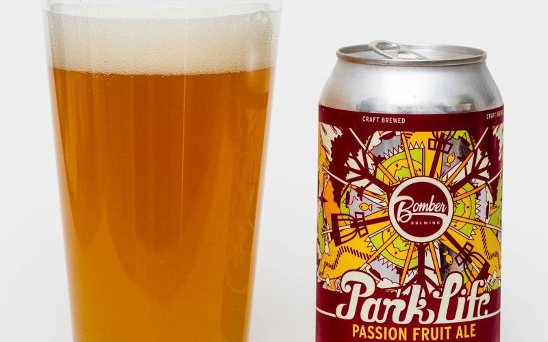 Bomber Brewing Co. – Park Life Passion Fruit Ale