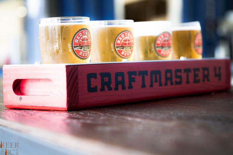 Red Truck Brewery Craftmaster 4 Sampler
