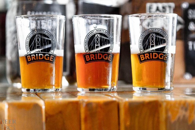 three new beers from Bridge Brewing