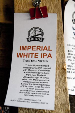 Bridge Brewing Imperial White IPA