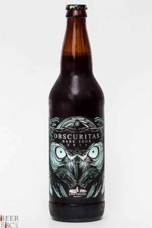 Driftwood Brewing Obscuritas Dark Sour Review