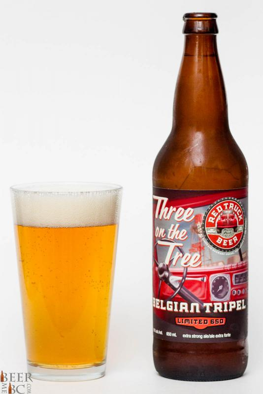 Red Truck Beer - Three On The Tree Belgian Tripel Review