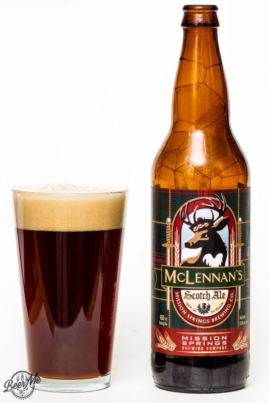 Mission Springs McLennan's Scotch Ale Review