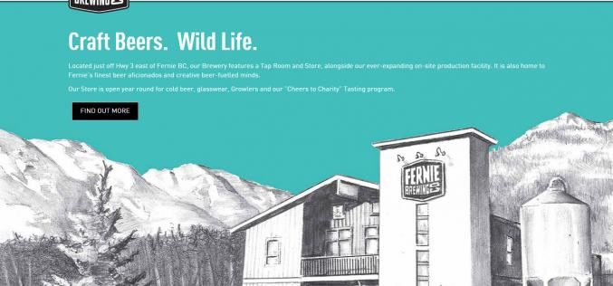 Fernie Brewing Co. Launches New Website